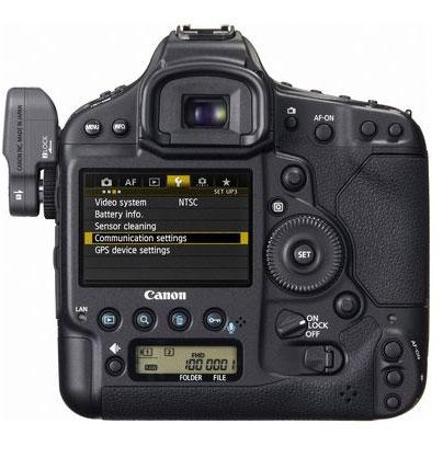 Canon 1D X Wireless Setting