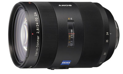 Sony 24 -70mm f/2.8 Carl Zeiss lens for Sony A77