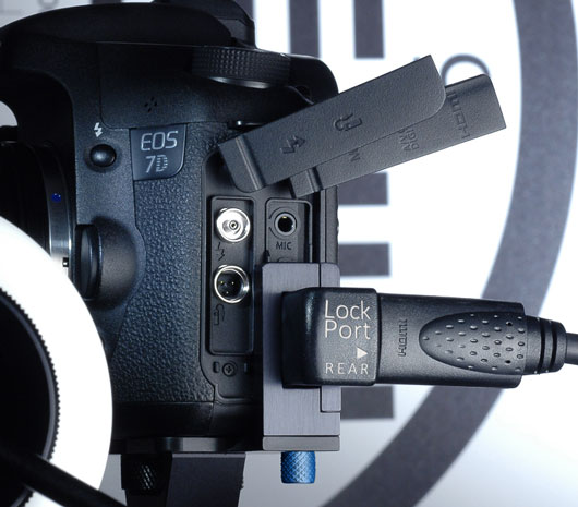 Lock Port for your 7D camera