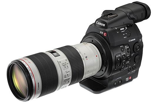 EOS C300 Digital Cinema Camera with EF Lenses