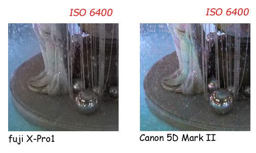 Fuji X Pro 1  vs Canon 5D mark II