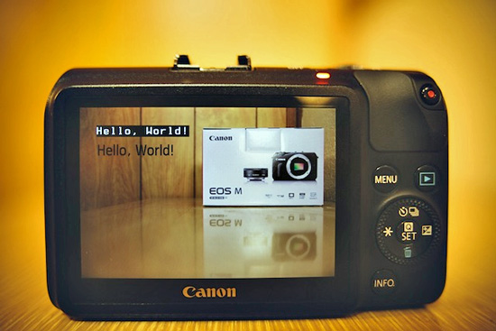 Canon EOS-M hacked by Magic Lantern Team