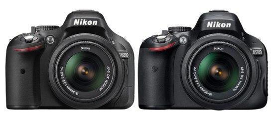 Nikon D5200 vs Nikon D5100