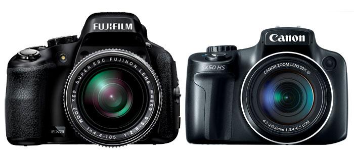 fujifilm hs50 vs canon sx50 hs new camera. Black Bedroom Furniture Sets. Home Design Ideas