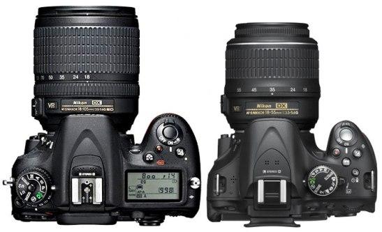 Nikon D7100 vs D5200