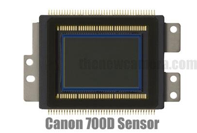 Canon 700D Sensor
