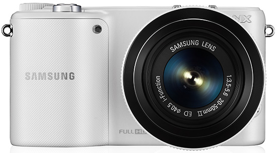 Samsung NX2000 front