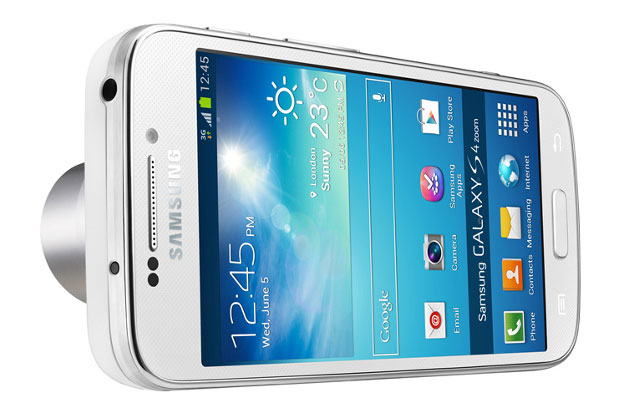 Samsung Galaxy S4 Zoom 4G/Lte Android Smartphone Camera