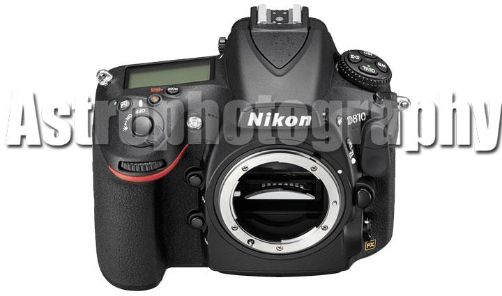 Nikon D810a for astrophotography