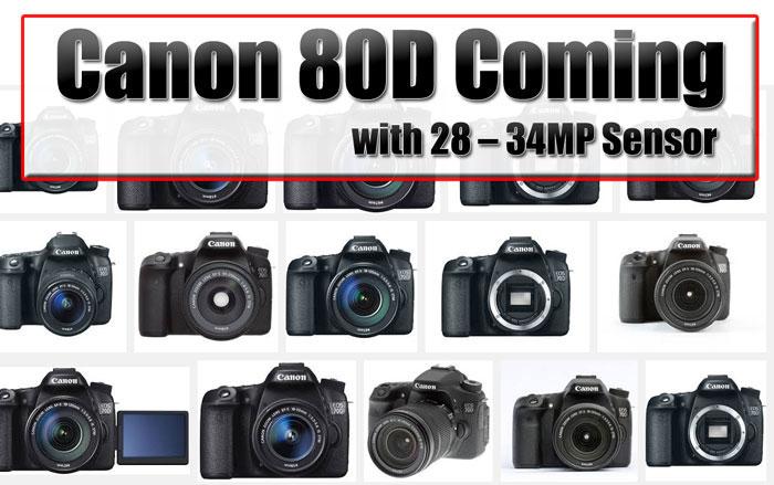 'Canon EOS 80D aankondiging waarschijnlijk tijdens CP+'