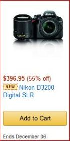 Nikon D3200 special offer img