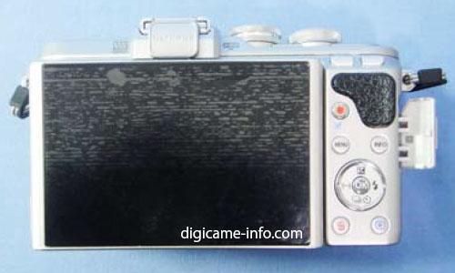 Olympus E-PL8 camera back image