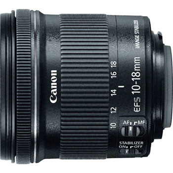 Canon 10-18mm Lens image