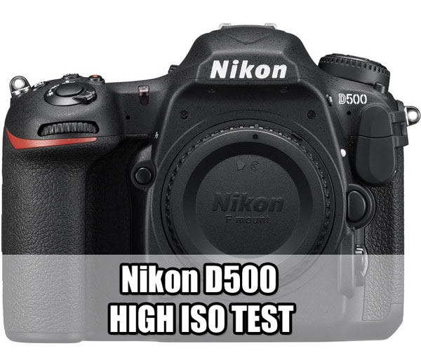 Nikon D500 High ISO test first image