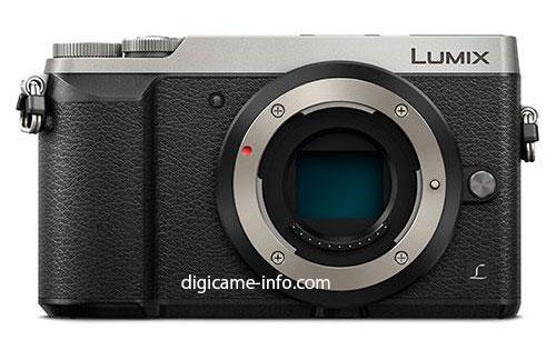 Panasonic GX80 front image