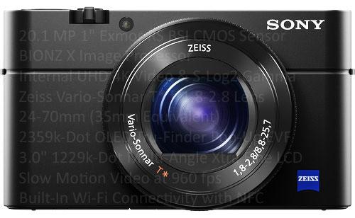 Sony RX100 V hybrid sensor camera