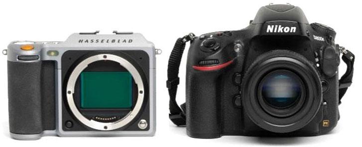 Hasselblad vs Nikon D800E