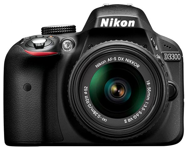 Nikon-D3300-fron-image