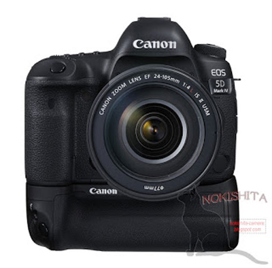 Canon 5D Mark IV with battery grip image