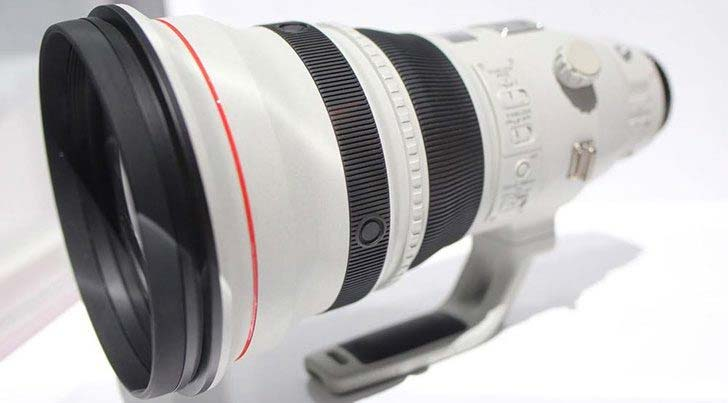 Canon 600mm lens image