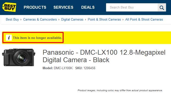 Panasonic LX200 image