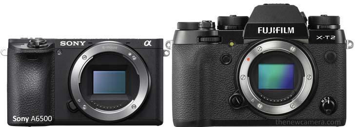 Sony A6300 vs Fuji X-T2