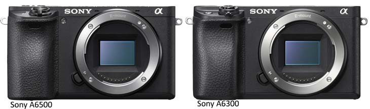 Sony A6500 vs Sony A6300 image