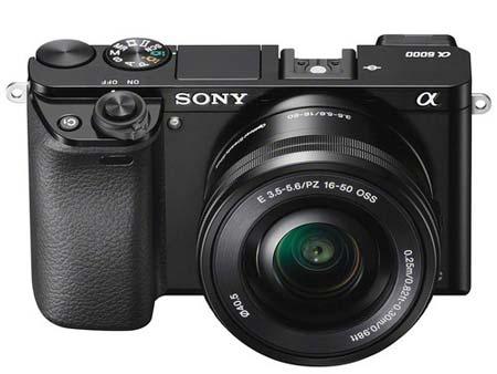 Sony A6000 camera image