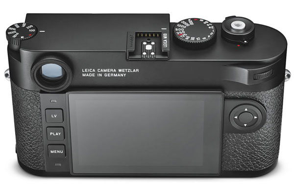 Leica M10 back image