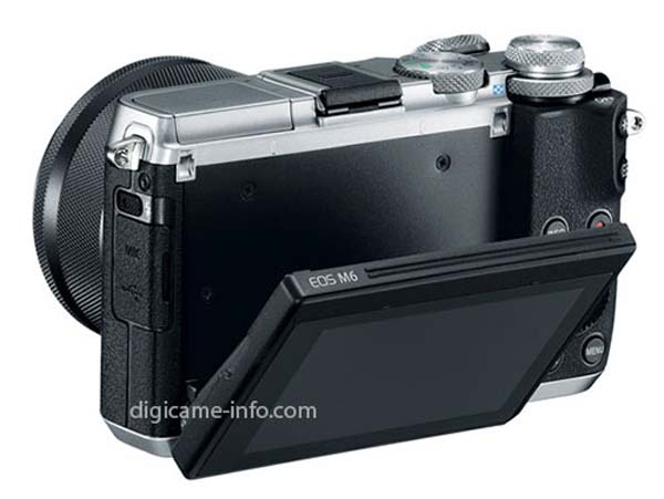 Canon EOS M6 back image