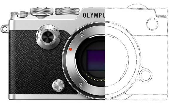 Olympus PEN F Patent