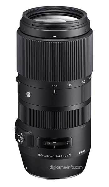 Sigma 100-400mm lens