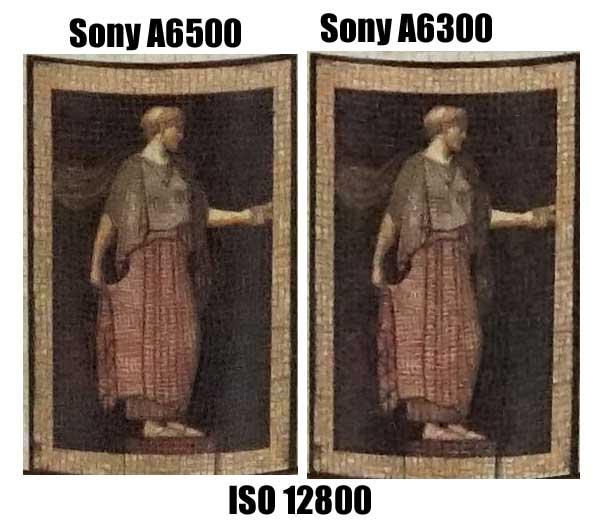 Sony A6500 vs Sony A6300 H2