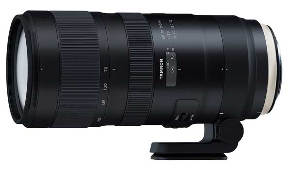 Tamron 70-200mm lens image