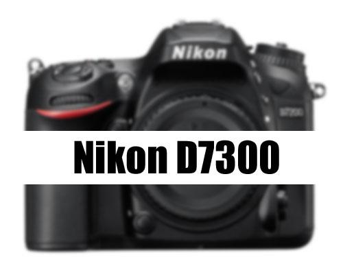 Nikon D7300 DSLR
