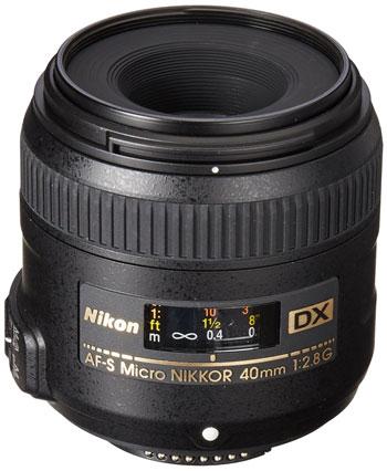 Nikkor 40mm lens image
