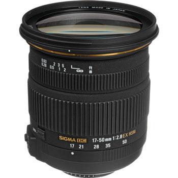 Sigma 17-50mm lens image