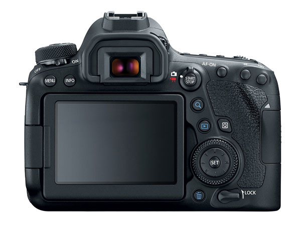 Canon 6D Mark II back image