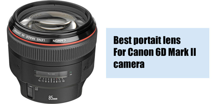 Best portai lens for Canon 6D mark II