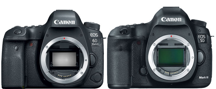 6D mark II vs 5D Mark III