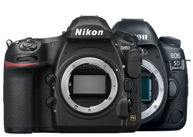 Nikon D850 vs Canon 5D Mark IV image