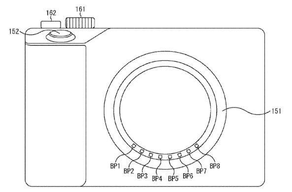 Sony patent image