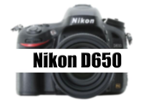Nikon D650 image