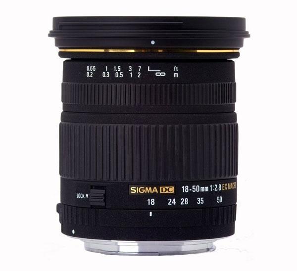 Sigma 18-50mm F2.8 Lens image