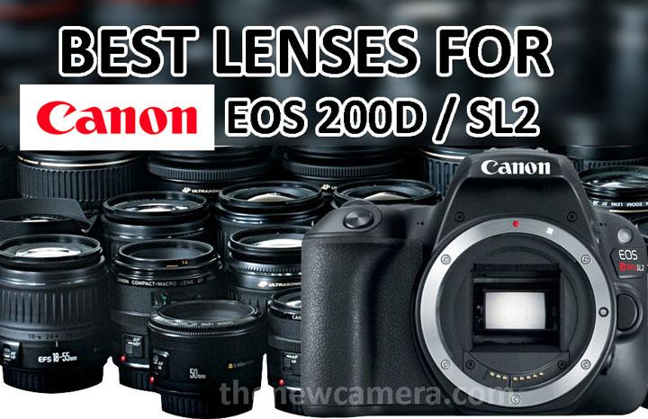 Best Lenses for Canon 200D « NEW CAMERA