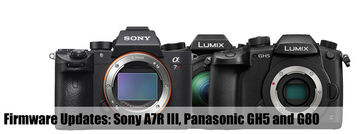 Firmware Updates: Sony A7R III, Panasonic GH5 and G80 « NEW CAMERA