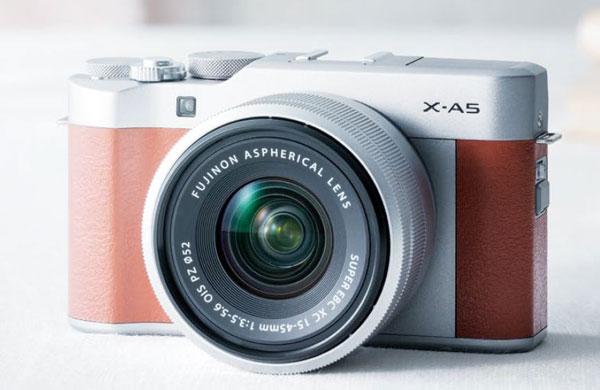 Fuji X-A5 front image