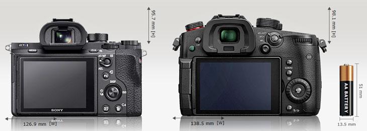 Panasonic GH5S vs Sony A7S II