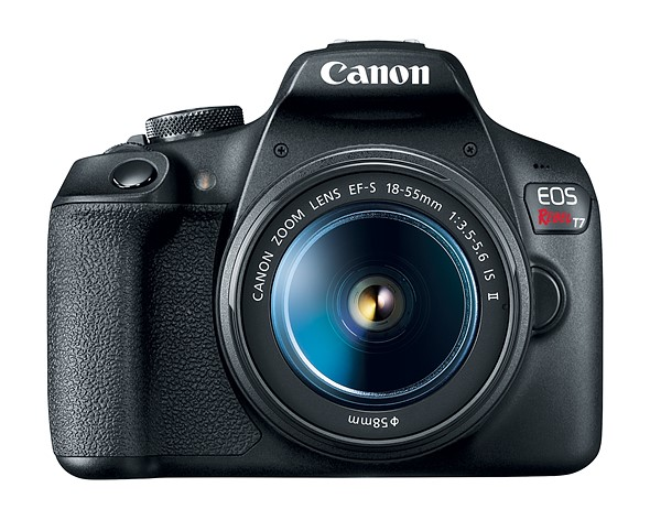 Canon T7 DSLR camera