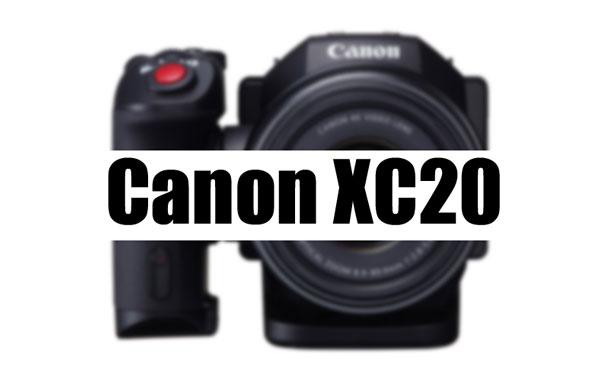 Canon XC20 camera image